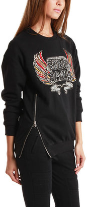 3.1 Phillip Lim Embroidered Sono Mama Crest Sweatshirt