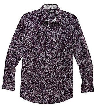 Murano Liquid Luxury Floral Print Sportshirt
