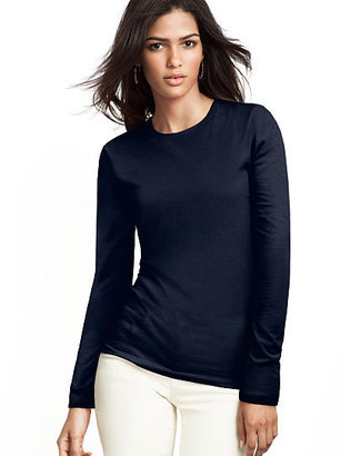 Victoria's Secret Essential Tees Long-sleeve Crewneck