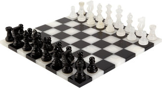 Scali Salvatore Alabaster Chess Set $295 thestylecure.com