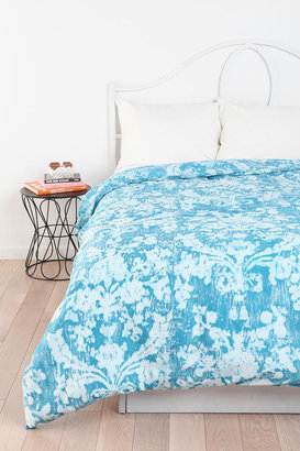 Urban Outfitters Plum & Bow Distressed Damask Duvet Cover