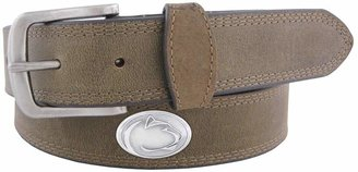 Men's Zep-Pro Penn State Nittany Lions Concho Crazy Horse Leather Belt