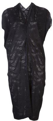 Zero Maria Cornejo perforated dress