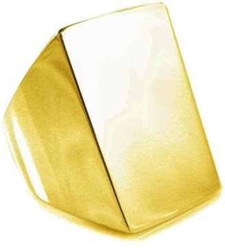 Tom Binns 'Clash' signet ring