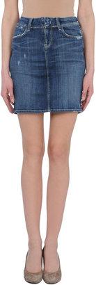 Genetic Los Angeles Denim skirts