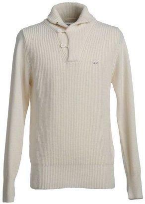 Sun 68 High neck sweater