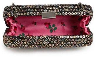 Betsey Johnson Sequin Clutch