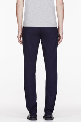 Paul Smith Navy Slant Pocket Trousers