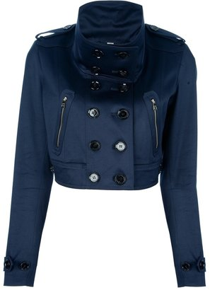 Burberry cropped trench jacket