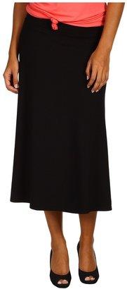 Red Dot Tea Length Skirt