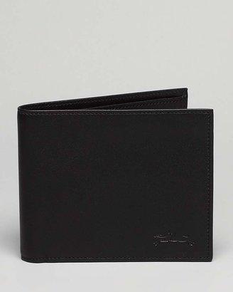 Longchamp Baxi Cuir Bi-Fold Wallet $120 thestylecure.com