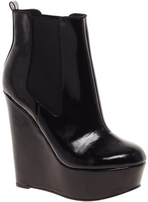 Asos ATTEND Chelsea Wedge Ankle Boots