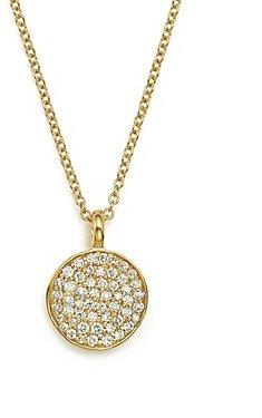 Ippolita 18K Yellow Gold Stardust Flower Pendant Necklace with Diamonds, 18
