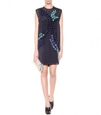 3.1 Phillip Lim Appliquéd silk dress