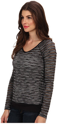 KUT from the Kloth Liane Crew Neck 3/4 Sleeve Top