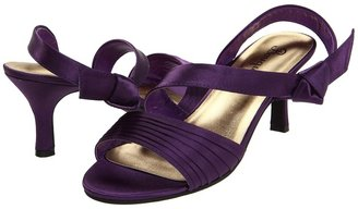 Bouquets Meg (Purple Satin) - Footwear