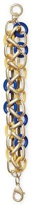 Pim + Larkin Criss Cross Chain Bracelet