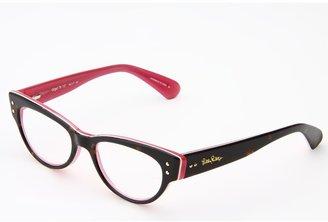 Lilly Pulitzer Gidget (Tort Pink Tri-Laminate) - Eyewear