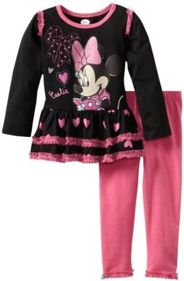 Disney Baby-Girls Infant 2 Piece Minnie Mouse Cutie Legging Set