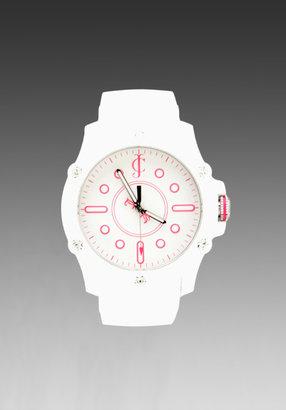 Juicy Couture Surfside Rubber Bezel Watch