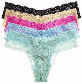 Cosabella Never Say Never Thongs, Set of 5