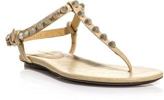 Balenciaga Arena studded flat sandals
