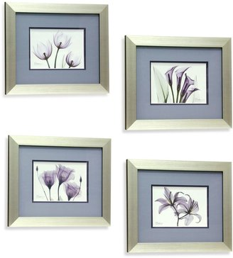 Bed Bath & Beyond X-Ray Blackberry Floral Wall Art