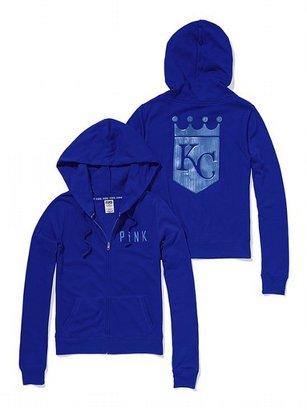 Victoria's Secret PINK Kansas City Royals Bling Perfect Full Zip Hoodie