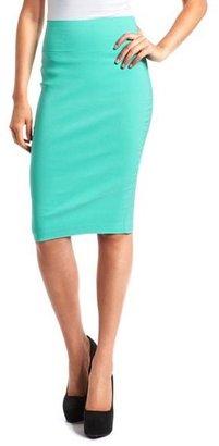 Charlotte Russe Mid-Length Pencil Skirt