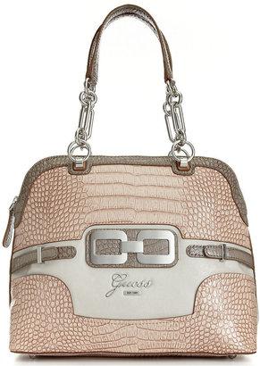 GUESS Handbag, Mikelle Dome Satchel