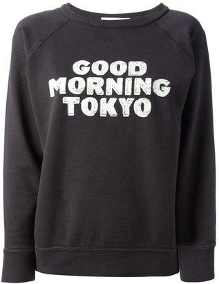 Etoile Isabel Marant 'Halen Good Morning Tokyo' printed sweater
