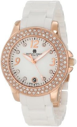 Charles-Hubert, Paris Women's 6789-WRG Premium Collection Ceramic and Stainless Steel with Swarovski Crystal Watch $190 thestylecure.com