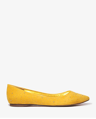 Forever 21 Pointed Stud Flats