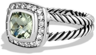 David Yurman Albion Petite Ring with Gemstone & Diamonds