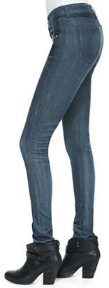 Rag and Bone The Skinny Pinner Faded-Knee Jeans