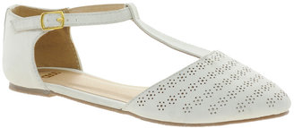 Asos JEMIMA Flat Shoes With T-bar