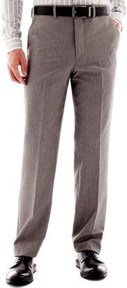 JF J.Ferrar Men's JF J. Ferrar End on End Flat-Front Straight-Leg Slim Fit Suit Pants $90 thestylecure.com