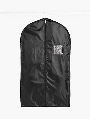 John Lewis & Partners Suit Cover, Black