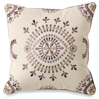 "Kas Florin 12"" Square Toss Pillow"