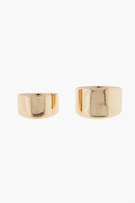 Maison Martin Margiela Gold double-ring Set