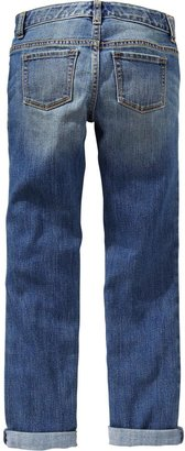 Old Navy Girls Rolled-Cuff Skinny Jeans