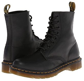 Dr. Martens Pascal 8-Eye Boot (Black Virginia) Women's Lace-up Boots