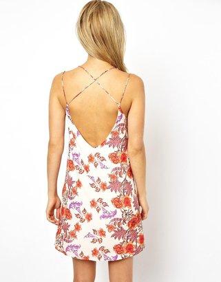 Asos Floral Mini Cami Dress