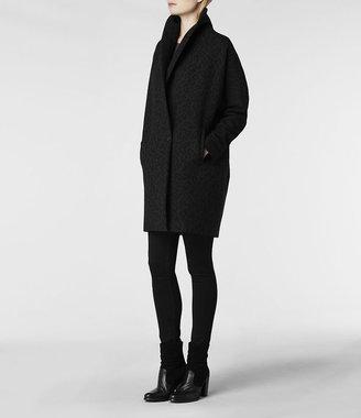 AllSaints Leopard Klein Coat