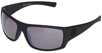 Von Zipper VonZipper Suplex (Black Satin/Rose Silver Chrome) Plastic Frame Sport Sunglasses