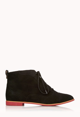 Forever 21 Go-To Oxford Booties