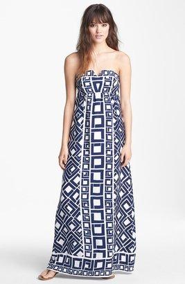 Alice & Trixie 'Fontaine' Print Silk Maxi Dress