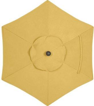 Crate & Barrel 6' Round Sunbrella® Daffodil Umbrella Cover