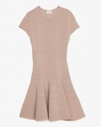 Torn By Ronny Kobo Double-knit Flare Dress