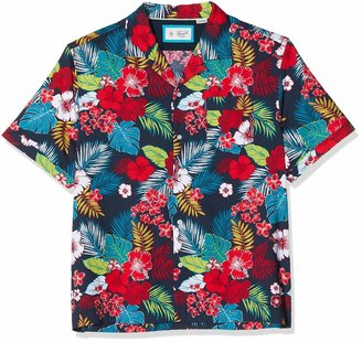 Original Penguin Men's Floral Casual Shirt